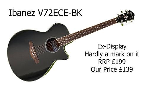 Ibanez V72ECE-BK