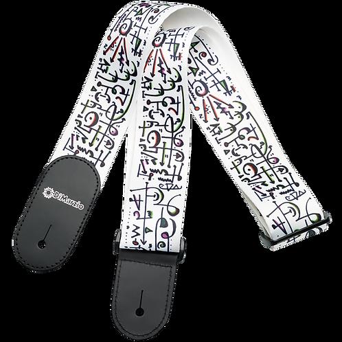 """Dimarzio® Steve Vai ART Print 2"""" Guitar Tab Strap"""