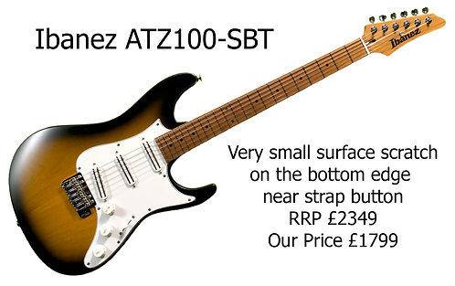 Ibanez ATZ100-SBT 31249H
