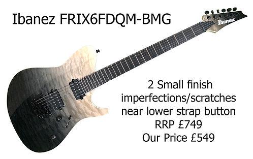 Ibanez FRIX6FDQM-BMG Iron Label   30045H