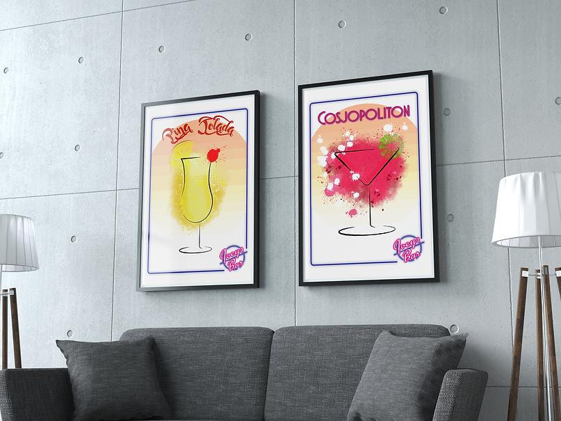 Joanne Cocktail mockip poster1.png