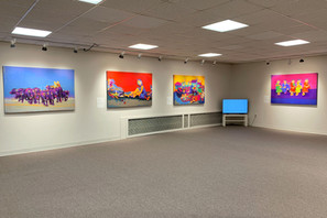 Siddharth Choudhary_Solo Exhibition_Of N