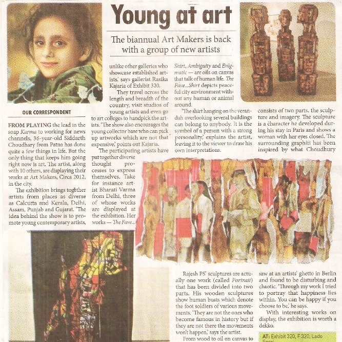 """Young at art,"" Millennium Post,"