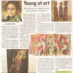"""""""Young at art,"""" Millennium Post,"""