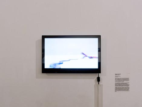 Installation view- Deadlock animation