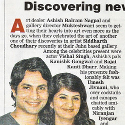 """""""Discovering new talent"""", Bombay"""