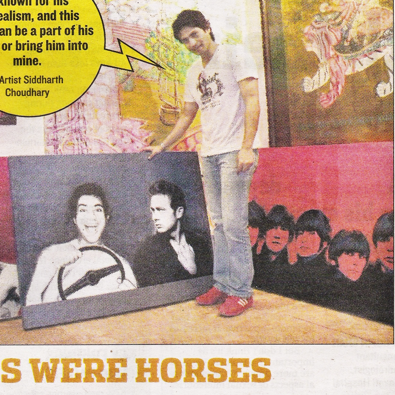 """""""If wishes were horses"""", Mid Day"""
