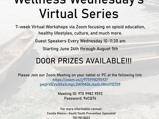 Wellness Wednesday's Virtual Series 7-week Virtual Workshops