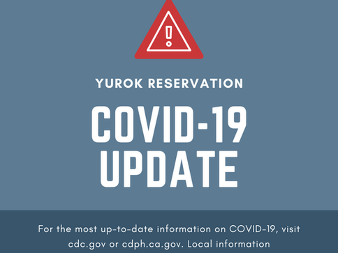 Press Release: Third individual tests positive for COVID-19 on the Yurok Reservation