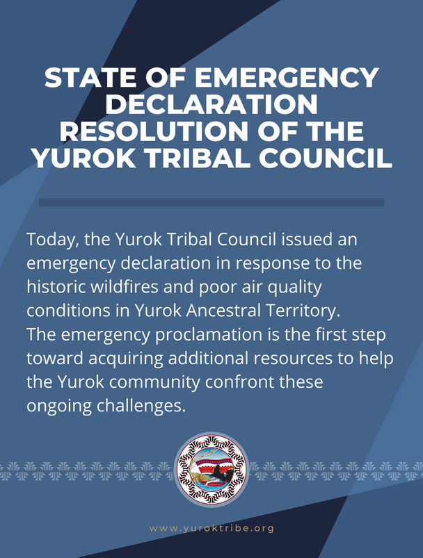 State of Emergency Declaration Resolution of the Yurok Tribal Council