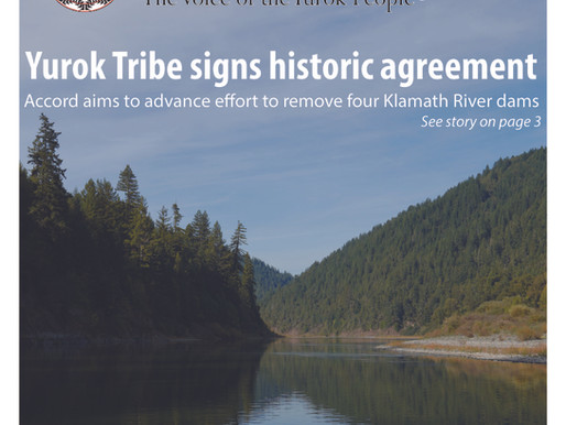 Yurok Today - The Voice of the Yurok People - November Edition