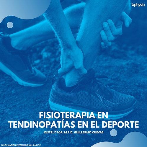 Fisioterapia en Tendinopatías en Deporte