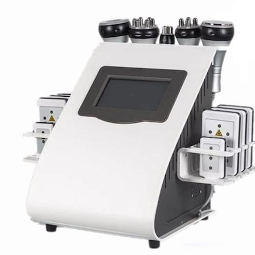 Multifuncional Cavitación/Radiofrecuencia/Lipolaser/Vacum