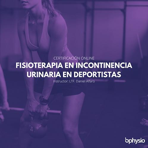 Fisioterapia en Incontinencia Urinaria en Deporte