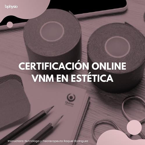 Certificación Online VNM en Estética