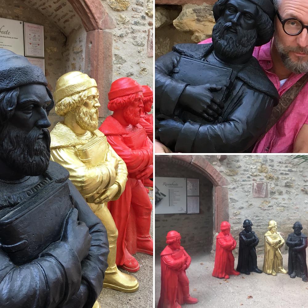 """Gutenberg-Installation """"Black Magic"""" in Eltville am Rhein"""