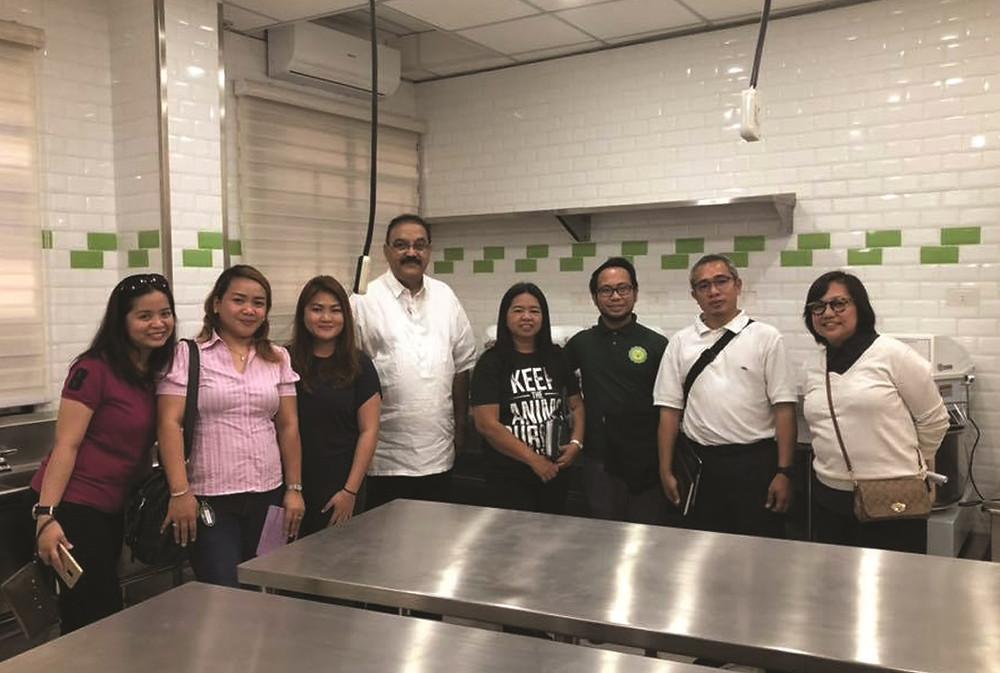 DLSU Health Science Institute Visits Stepping Stone Sucat
