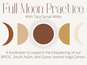 Full Moon Practice & Fundraiser