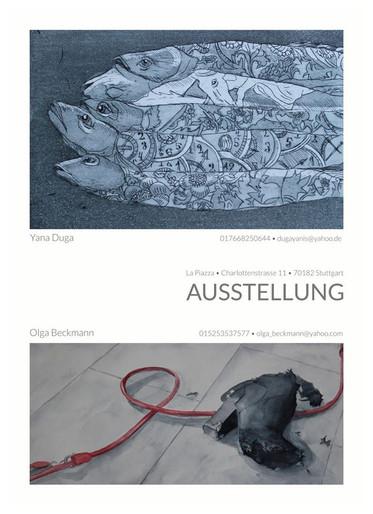 Ausstellung im La Piazza, Stuttgart 11.2012-12.2012