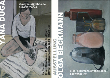 Ausstellung im La Piazza, Stuttgart 10.2011-12.2011