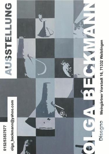 Kunstausstellung Restaurant Disegno Waiblingen                                        10.2012-12.201