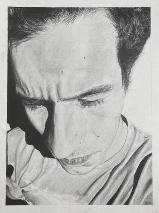 Quaratine Self Portrait