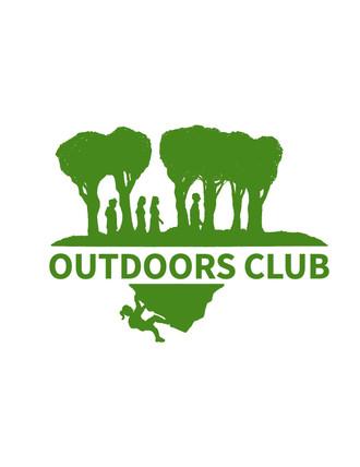 Outdoors Club logo design