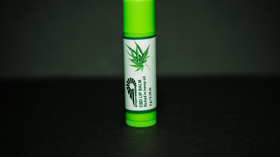 StickyGreen CBD Lip Balm