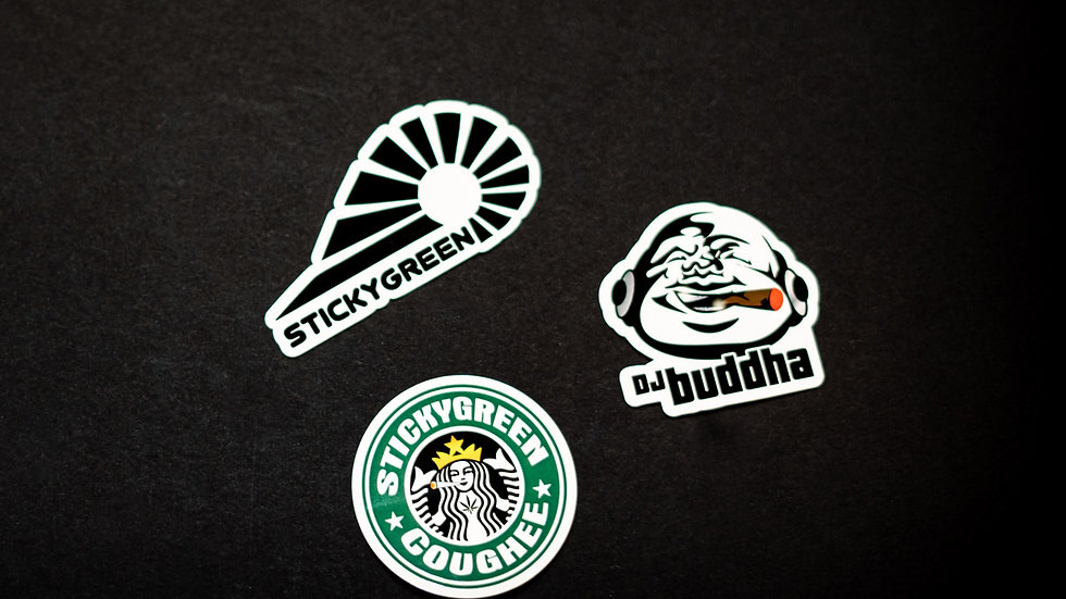 StickyGreen Stickers (3piece Set)