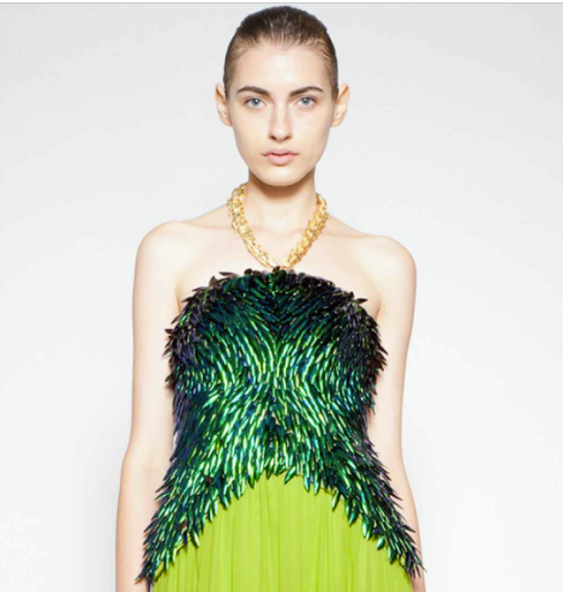Mathieu Mirano Beetle Dress
