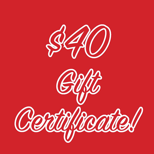 Little Red Hen Gift Certificate