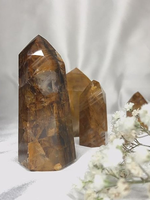 Golden Healer Quartz Point