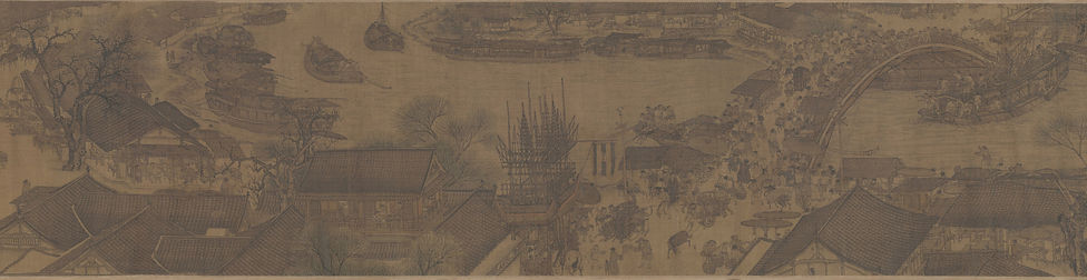 Springtime Along the River_ qing'min清明上河图_section