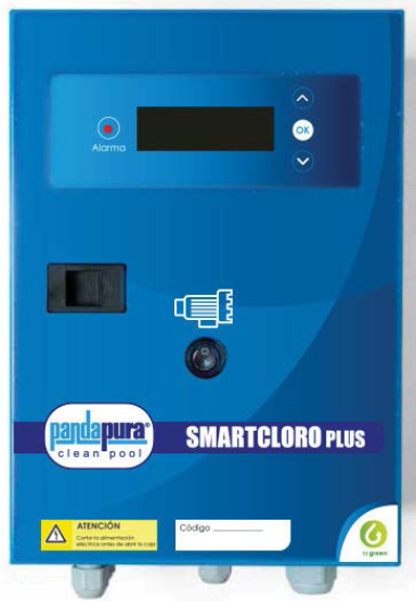 Clorador salino PANDAPURA SMARTCLPLUS 50-100