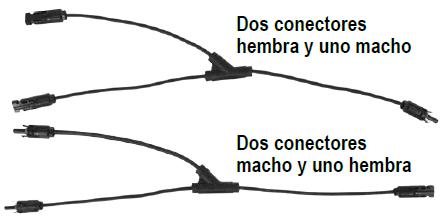 """CONECTOR """" Y """""""