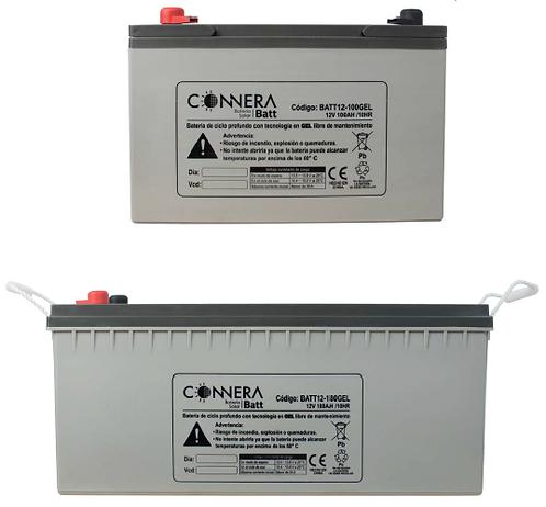 Batería de Gel Sellada CONNERA serie BATT