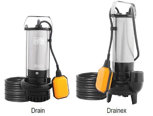 Bomba ESPA series: DRAIN (achique) y DRAINEX (lodos)