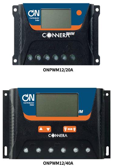 Controlador de carga solar  CONNERA serie ON PWM