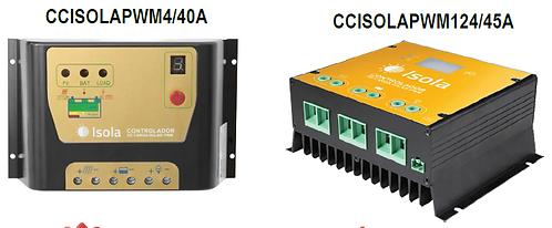 Controlador de carga solar PWM marca CONNERA serie ÍSOLA