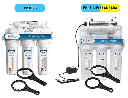 Sistema de ultrafiltración punto de uso (POU). PURIKOR