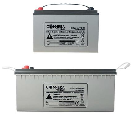 Batería Sellada de Plomo-Ácido marca CONNERA serie BATT