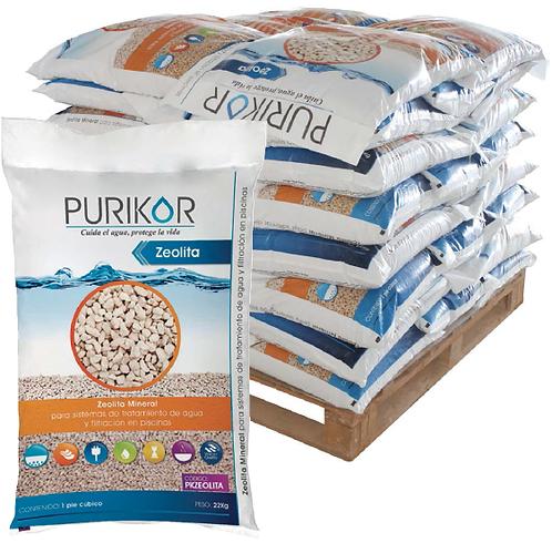 Zeolita mineral para tratamiento de agua y filtración PURIKOR