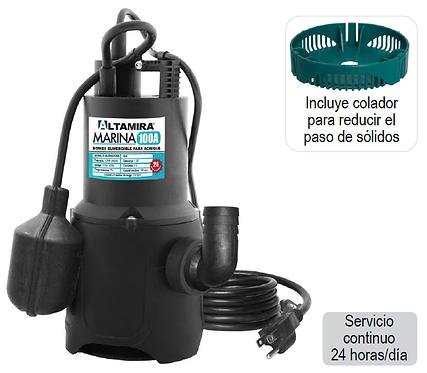 Bomba Sumergible para achique ALTAMIRA serie MARINA