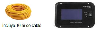 Control remoto para inversor solar marca CONNERA serie ÍSOLA