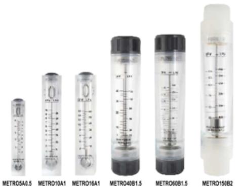 Rotámetros para medición de Líquidos PURIKOR