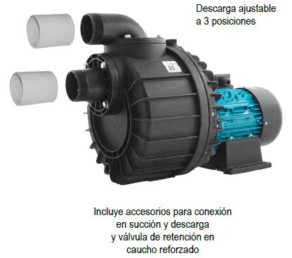 Bomba ESPA serie NADORSELF 6 (nado contracorriente)