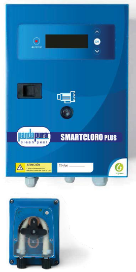 Clorador salino PANDAPURA SMARTCLPLUSPH 50-100