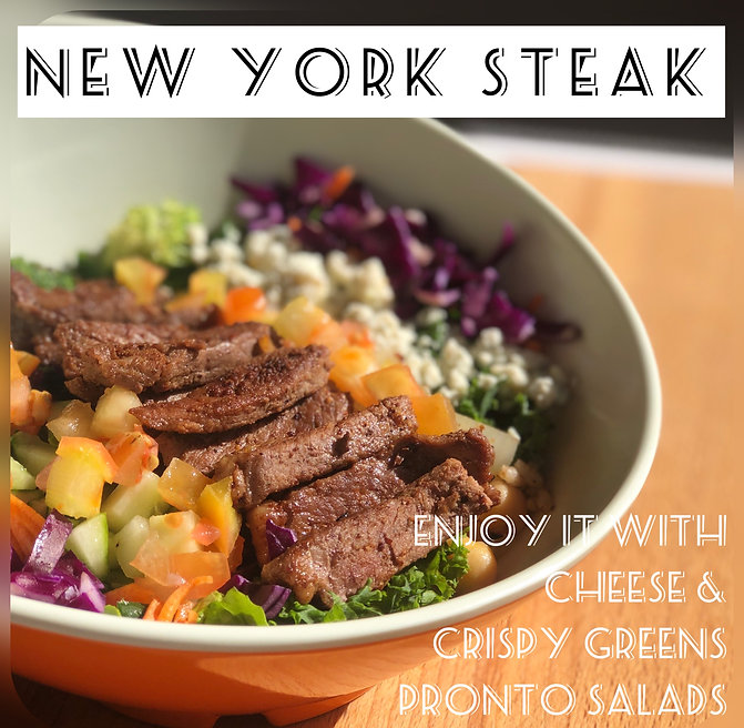 New York Steak Bowl