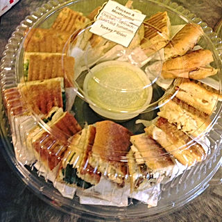 Panini platter: Many options to choose and satisfy all peope in your group