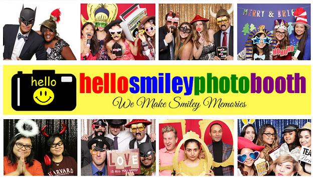 Hello Smiley Photobooth, photo booth rental, party fun, party souvenir, event activity